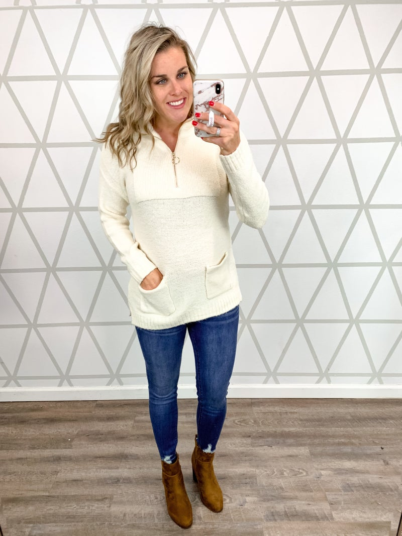 Dressed Up Sweater Pullover *ALL SALES FINAL*