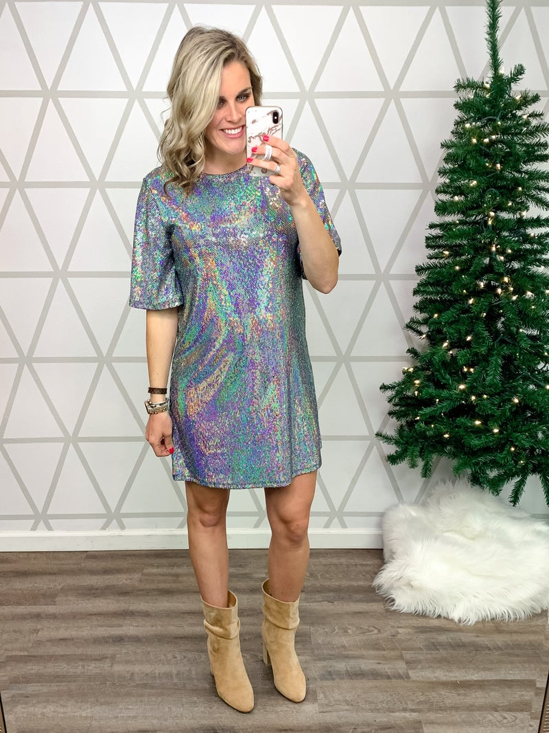 Sparkle Up Dress *ALL SALES FINAL*
