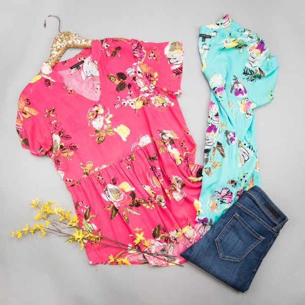 Dreamy Spring Blouse *all sales final*