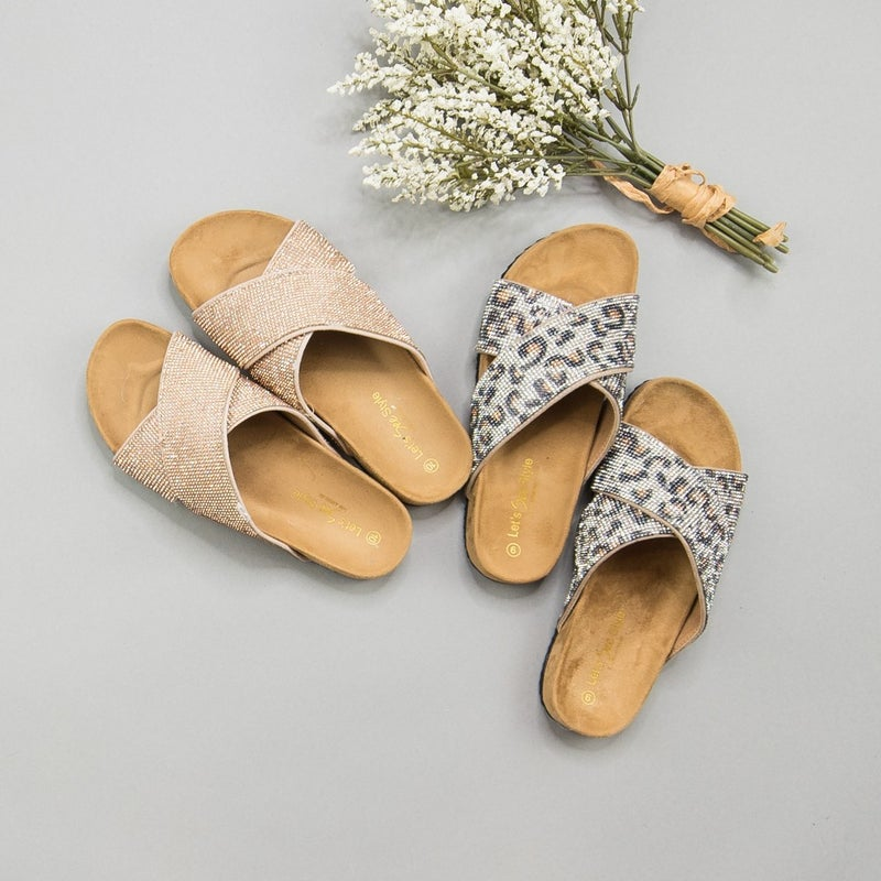 Dazzle It Up Sandals *ALL SALES FINAL*