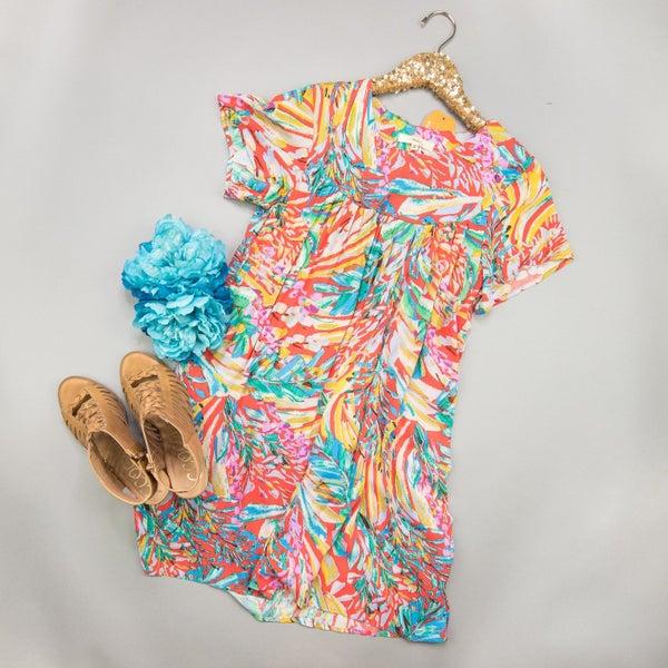 Vibrant Multi-Color Dress *all sales final*