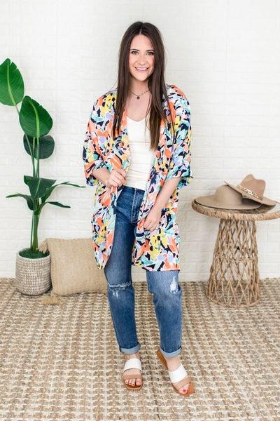 Colors So Bright Kimono