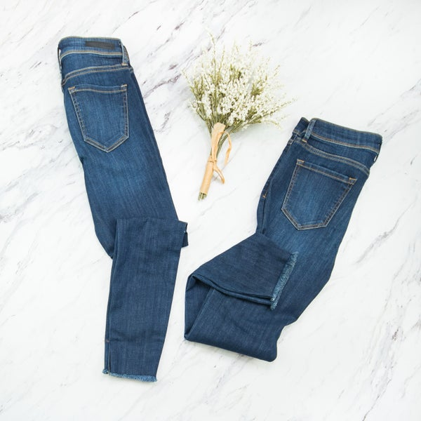 Mid-rise Medium Wash Denim