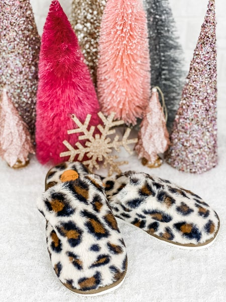 Leopard Traditional Slippers
