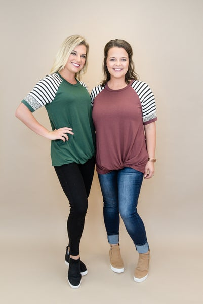 Stripes of Flaunt Tee