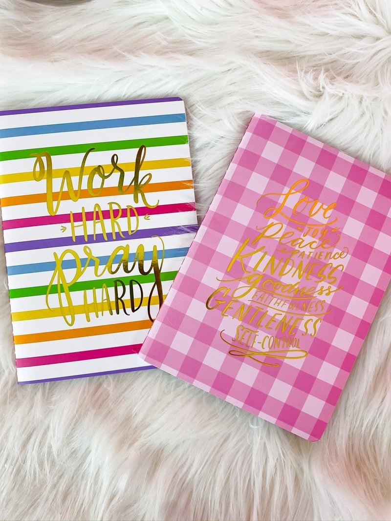 Prayer Notebook by Taylor Elliot Designs