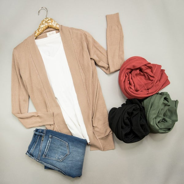 Basic Fall Cardigan
