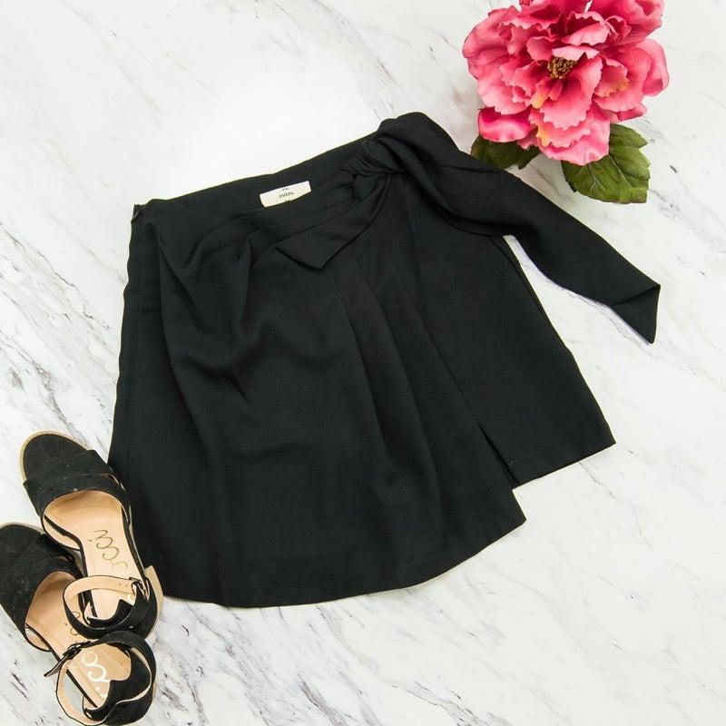 Dressy Black Skort(REPOST)