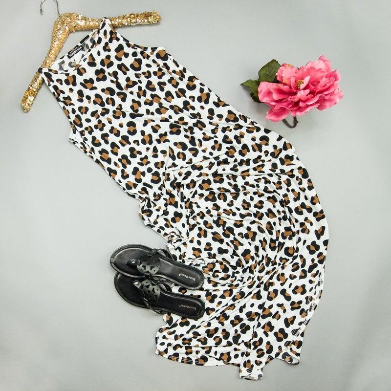 White Leopard Maxi *all sales final*