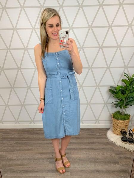 Summer Denim Dress *all sales final*