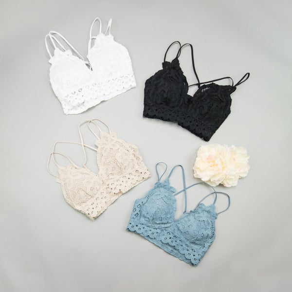 Flirty Lace Bralette *all sales final*