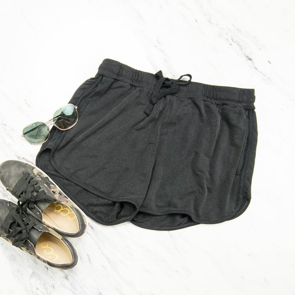 Soft and Stretchy Black Shorts
