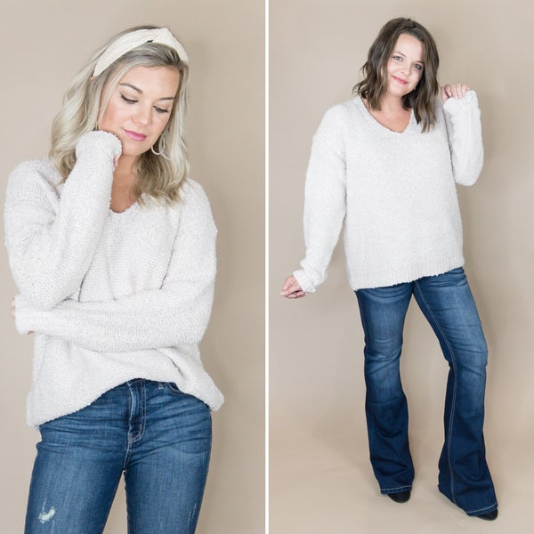 Staccato Oatmeal Sweater