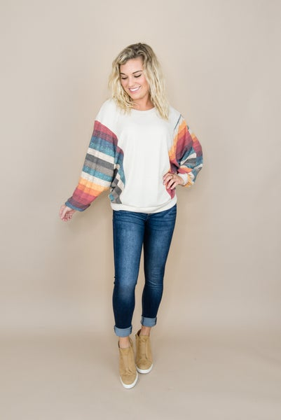 Fall Rainbow Top