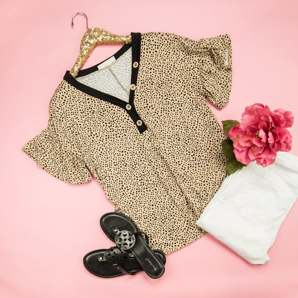 Best of Taupe Top