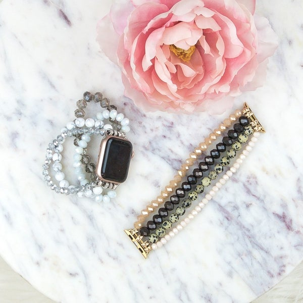 Thick Beaded Apple Watch Band