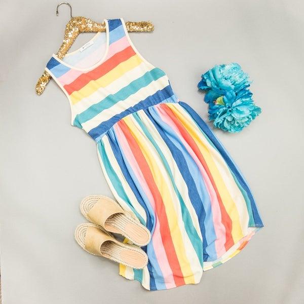 Rainbow Inspired Dress