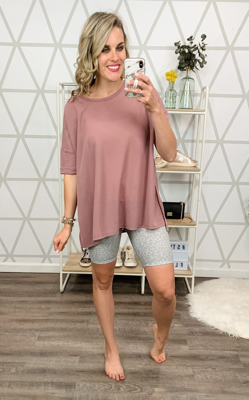 Cozy & Casual Tee *all sales final*