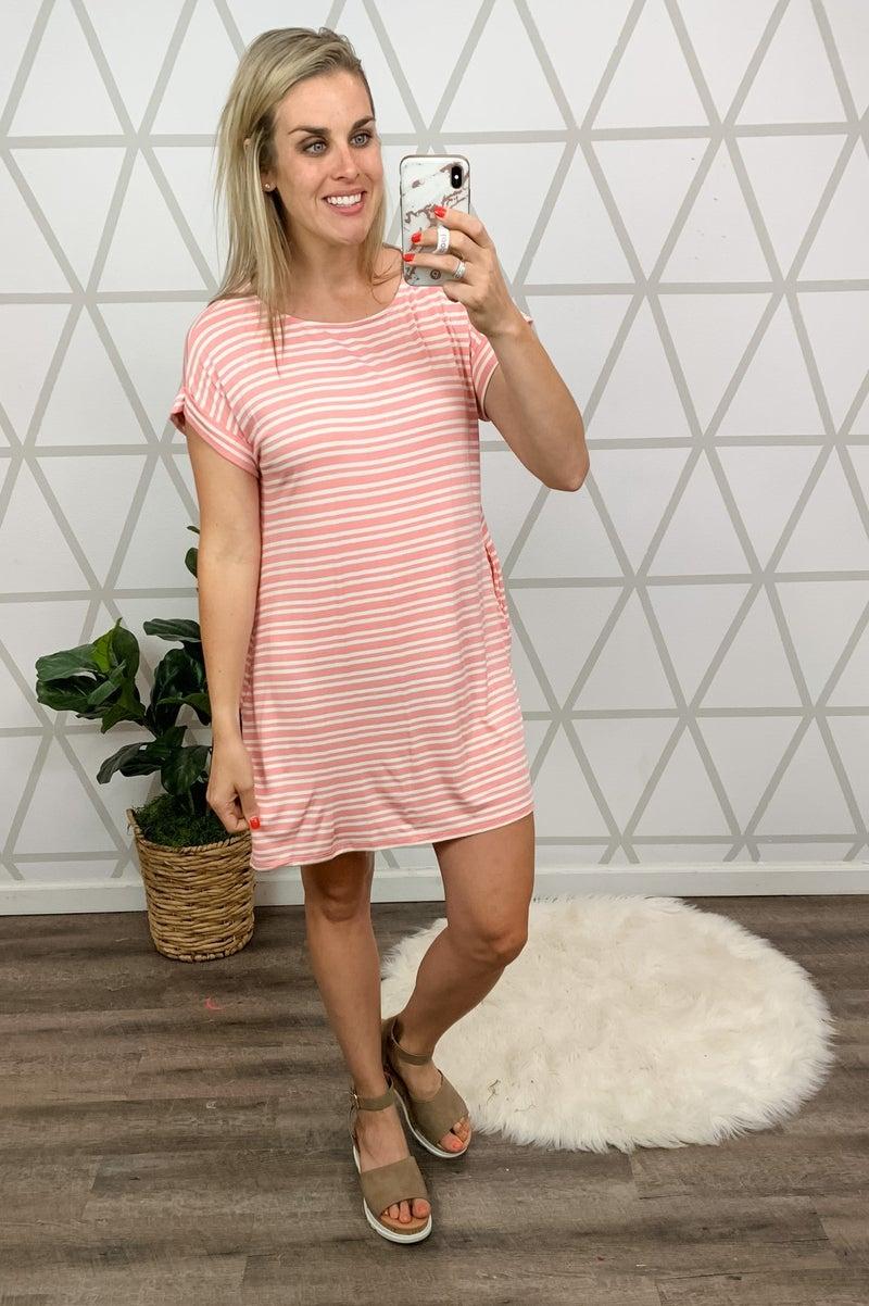 Sweet Peach Dress