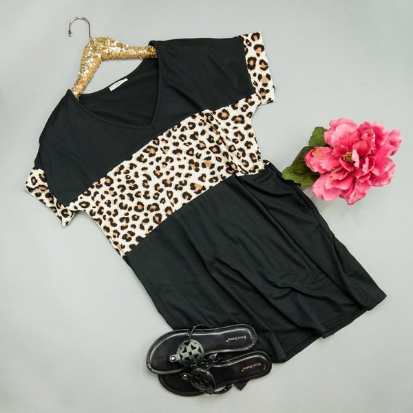 Dream Leopard Dress