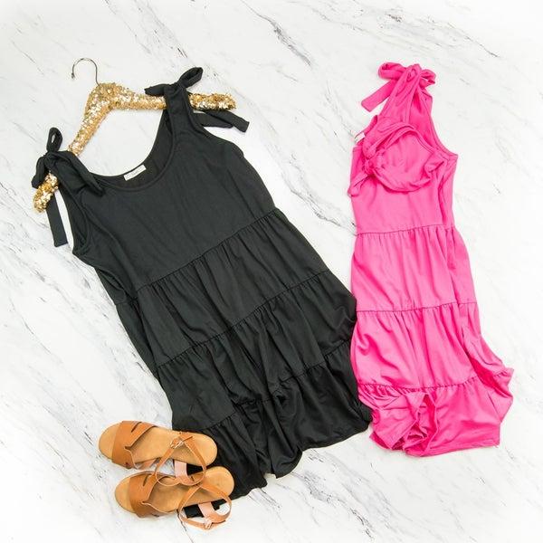 Bow Tie Summer Dress