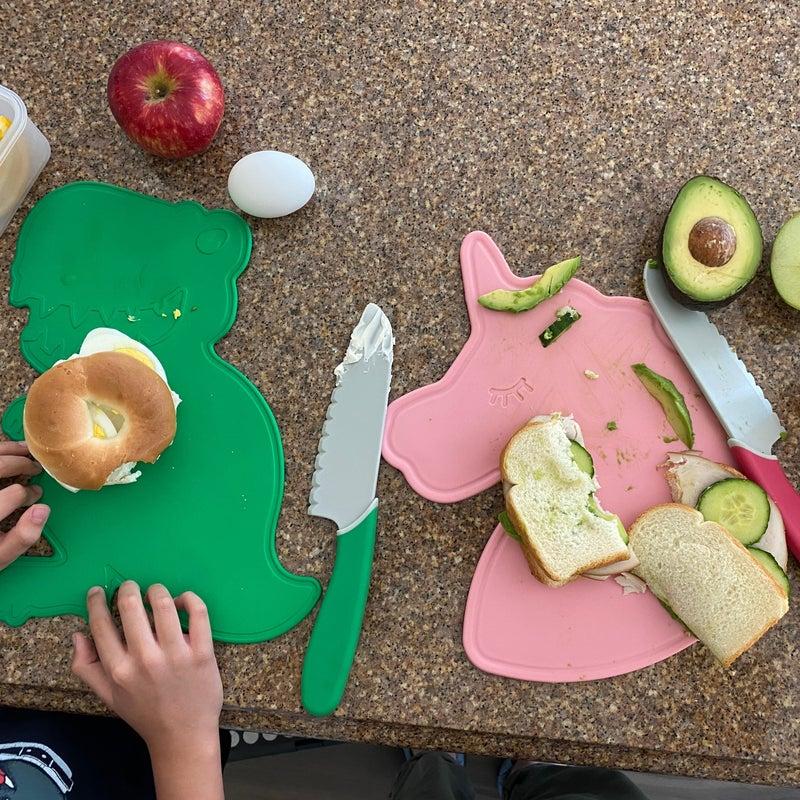 Kid Friendly Cutting Board