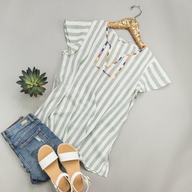 Summer Stripes Top