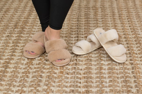 Neutral House Slippers