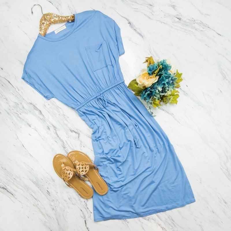 Blue Summertime Dress Simple & Easy Tee