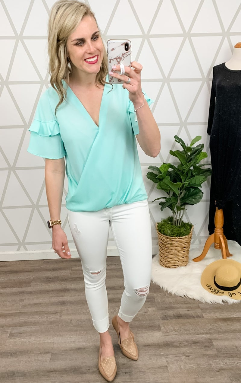 Vine&Love Working Girl Blouse *all sales final*