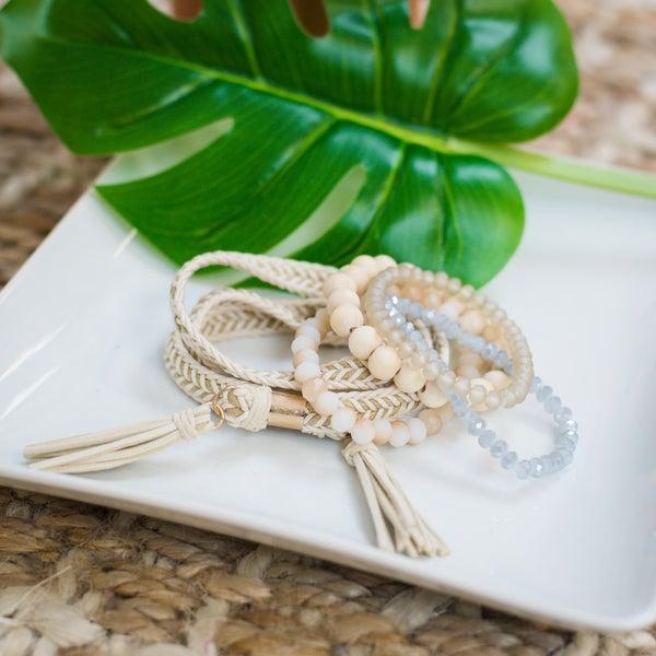 Nova Natural Bracelet Set
