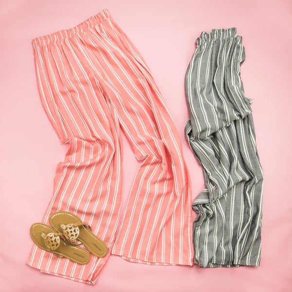 Easy Stripes Pants  *ALL SALES FINAL*