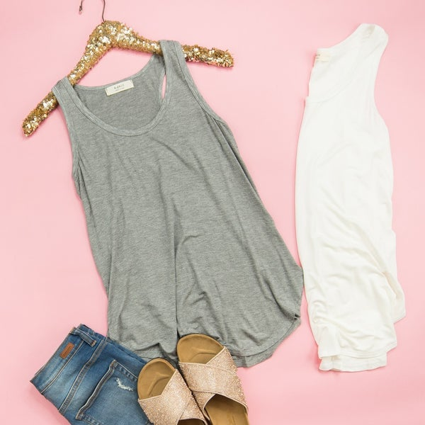 Simple and Easy Tank *all sales final*
