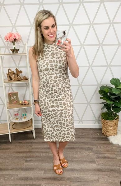 Skinny Leopard Dress