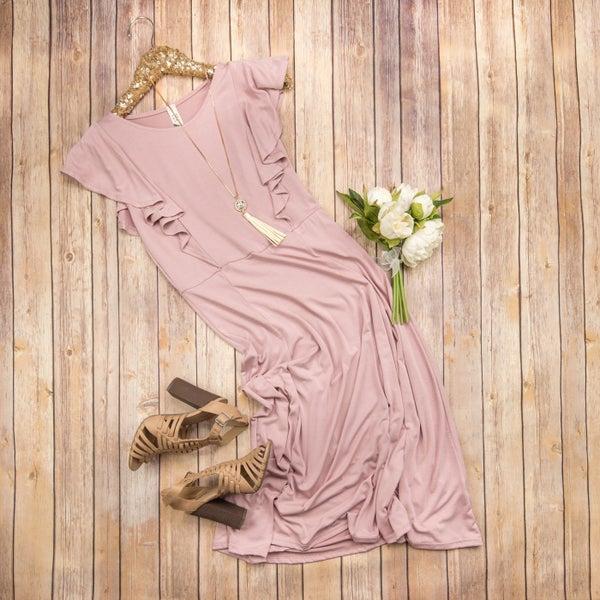 Blush Modal Dress *all sales final*