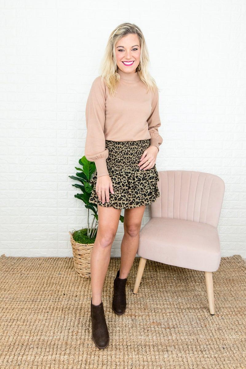 Trendy Ruffle Skirt