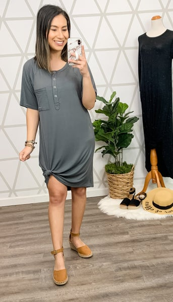 Titanium T-Shirt Dress