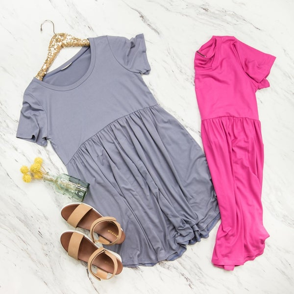 Flaunt Peplum Dress