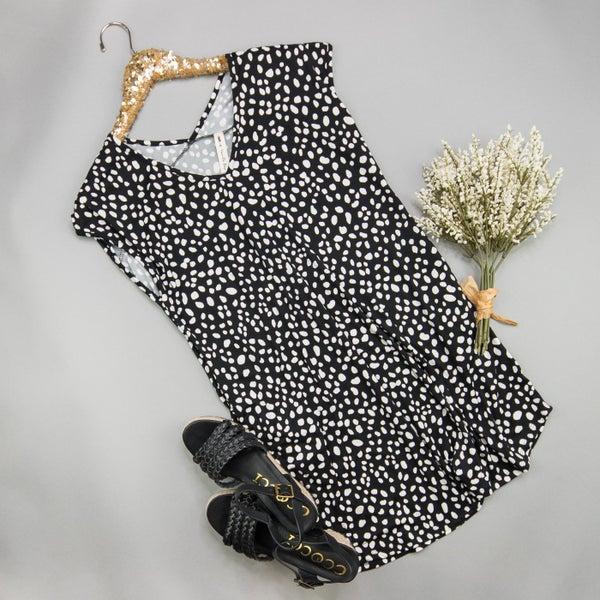 Butter Leopard Spot Dress