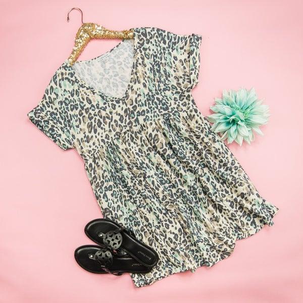 Petite Leopard Dress