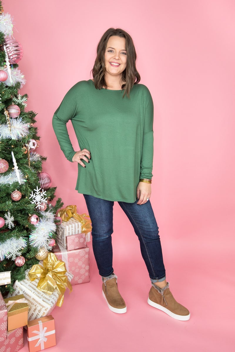 Flaunt Friday\\ Festive & Jolly Chic Top *all sales final