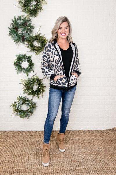 Light Leopard Jacket
