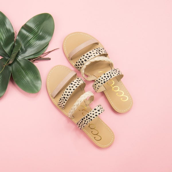 Blush Dot Summer Sandal