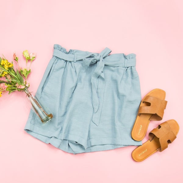 Dress It Up Denim Shorts