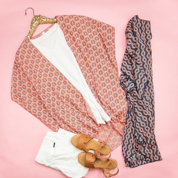 Smooth Summer Kimono *ALL SALES FINAL*