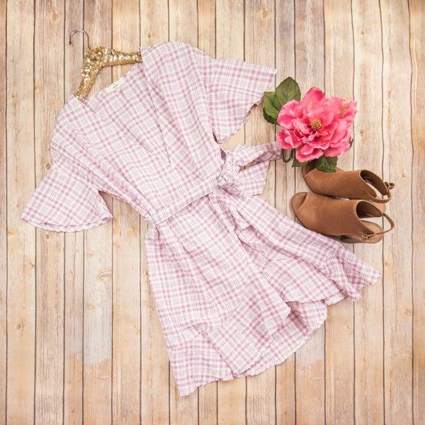 SALE // Pretty in Plaid Dress *ALL SALES FINAL*