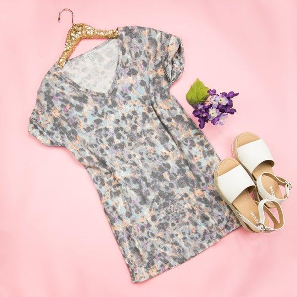 Dapple T-Shirt Dress