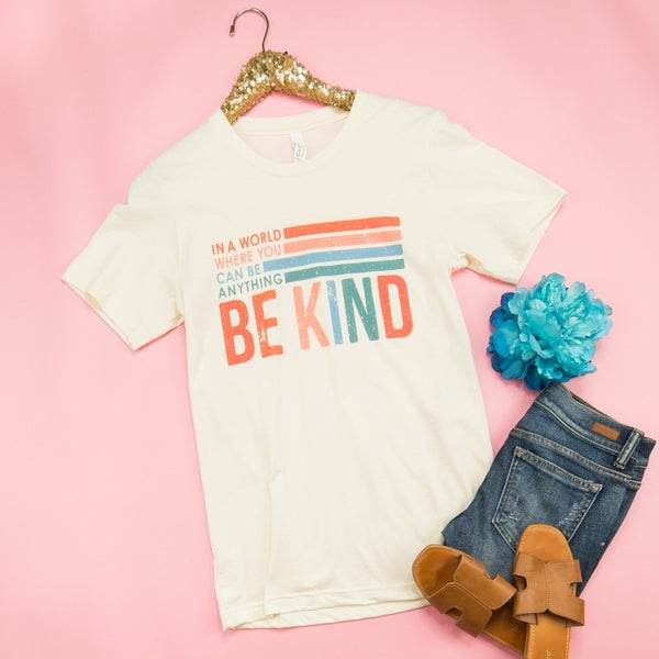 Let's Be Kind Tee