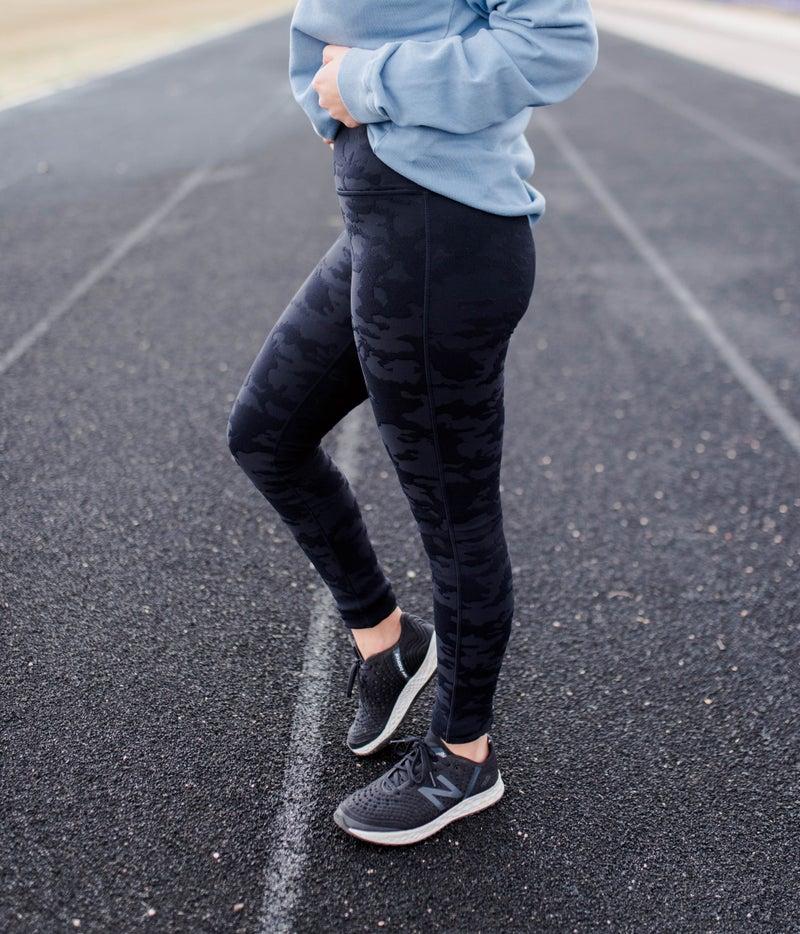 Black Camo Leggings