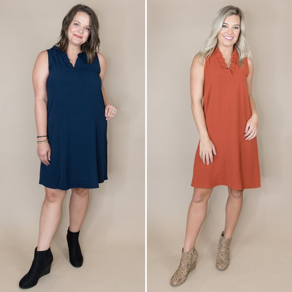 Easy Going Fall Dress *all sales final*